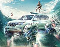 Underwater Toyota