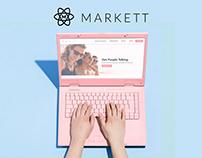 Markett | Ambassador Platform Redesign