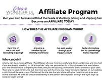 Affiliate Program Flyer