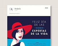 Centro Comercial Andares Ilustraciones / Eventos