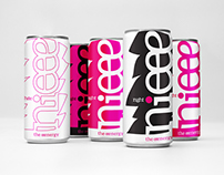 nieee · Packaging + Branding