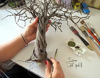 Olive tree (Olea europaea)zeytin ağacı By Gül ipek