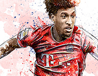 FC Bayern Munich Illustrations III