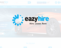 Eazyhire.com.ng Logo Refresh and Website UI Design