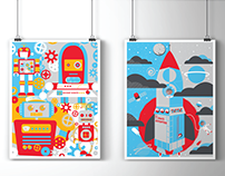 Thinkery Poster series