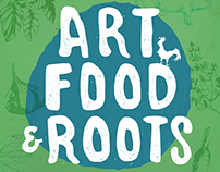 Art, Food & Roots Poster - Urban Roots