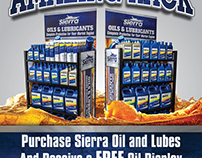 Sierra Oil Display and Promotional flyer