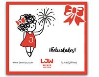 LJW · Tarjetas Fin de Año / Season greeting cards