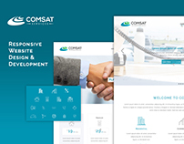 Comsat Services - Responsive Website Design