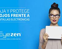 Adaptación y producción de piezas de campaña Eyezen.