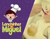 Lanchinhos do Miguel - Identidade Visual