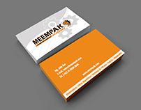 MEEMPAK - Logo, branding and web development