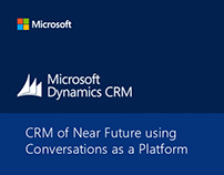 CRM of Near Future using Conversation as a Platform