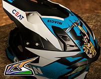 International Rally Helmet (CS Santosh)