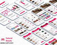 BeautySalon &SpaApp UI Kit