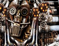 Work in Progress: Steampunk Robot