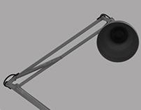 Luxo Lamp half size model