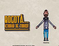 BOGOTÁ... ¡CIUDAD DE TODOS! (BLUEPRINT)
