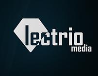 Lectrio media logo design