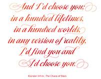 Digital Typesetting: I'd Choose You