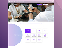 """Payment.az"" Website Design (UX/UI)"