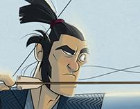 Samurai Character Design