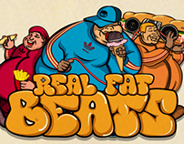 ADIPOSSE Really FAT Beats Tshirt Design