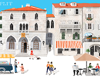 Postcards of Split