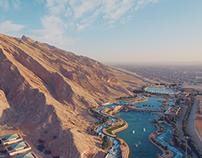 DRONE- Dubai Wadi adventures