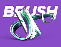 Flowing Brush Visual