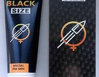 Black Size - Крем-гель для збільшення члена