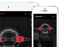 Driveshafts Centre Website and Social Media Design