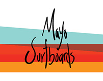 Mayo Surfboard Branding