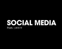 Social Media | 2018-19