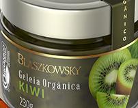 Organic Kiwi Jelly, for Blaszkowsky.