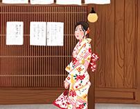 Japanese girl