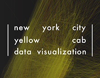 NYC taxi data visualization - infographic & web app
