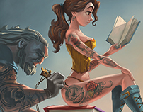 Inked Belle & The Beast