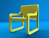Cadeira 3D