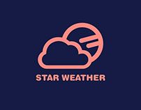 Star Weather App - Interface Concept