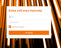 Area Riservata E-commerce