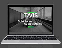 Tavis Landing Page