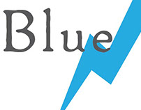 Blue Lightning Creative Logo