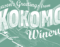 Kokomo Winery holiday cards