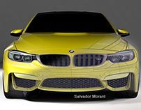 BMW M4 Modeling (A-Class)