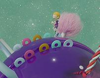 3D Candy World