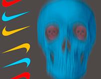 Poster Publicitario Marquesina Skull do it