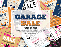 Garage Sale Flyer Bundle