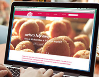 MORZILLI fast food | website interface