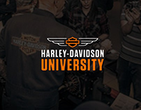 Harley-Davidson University- Environment Graphics